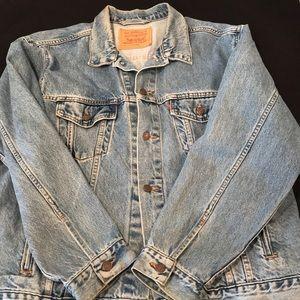 Levi's denim jacket men's XL